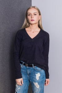 Bluza Basic V-neck Galaxy